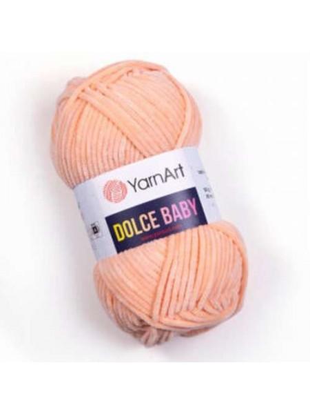 Пряжа YarnArt Dolce Baby, 50гр-85 метров, №773-персик