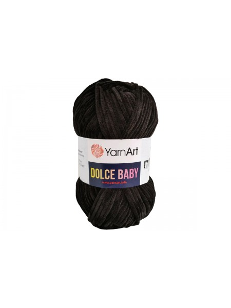 Пряжа YarnArt Dolce Baby, 50гр-85 метров, №742-черный