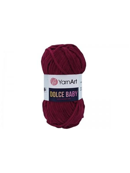 Пряжа YarnArt Dolce Baby, 50гр-85 метров, №752-вишнёвый