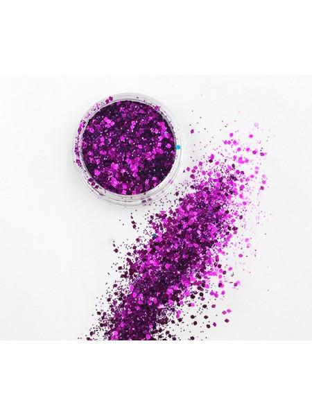 Декоративный наполнитель для смолы,цв-фиолетовый-3 гр