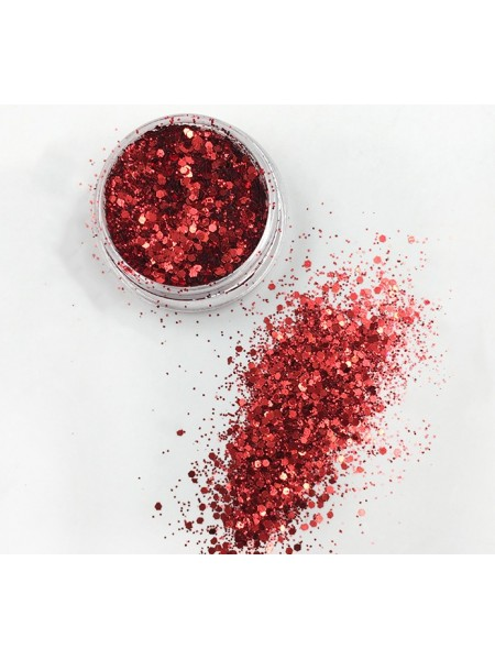 Декоративный наполнитель для смолы,цв-красный-3 гр