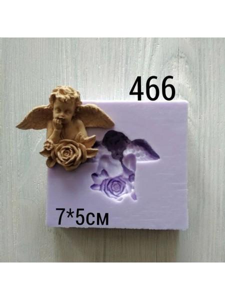 Декор из древесной пульпы-Ангел 7*5см