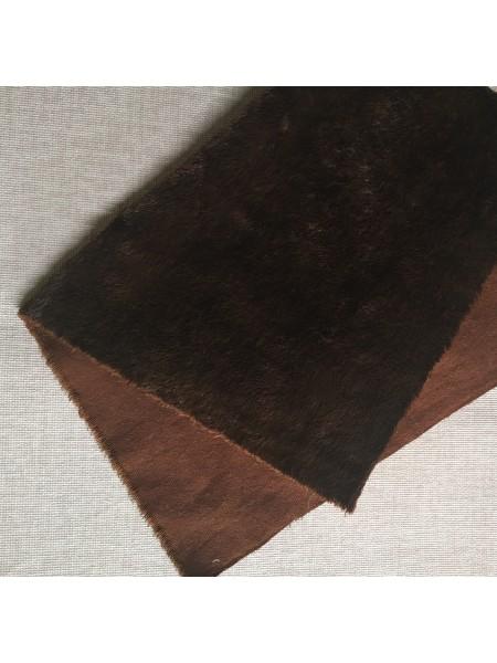 Вискоза для мишек Тедди, цв-тёмно-коричневый. Helmbold-190-000, 1/16м