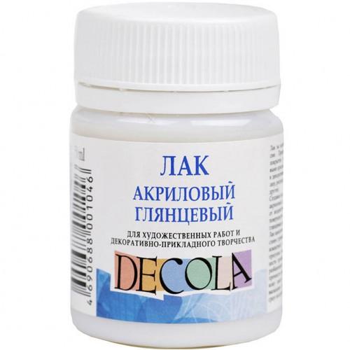 """Лак акриловый глянцевый """"Decola"""" (50 мл)"""