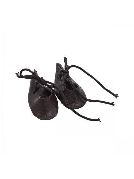 Ботиночки мини, 3 см, цв-тёмно-коричневый