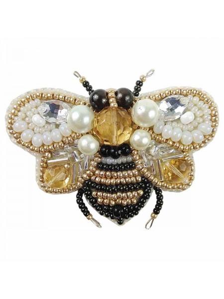 Набор для изготовления броши ТМ Чарівна Мить- 'Пчёлка' 6,5*5,5см