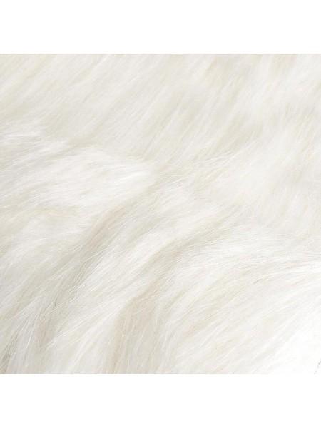 Борода для гнома - мех длинноворсовый, 5 см, размер 30*30см