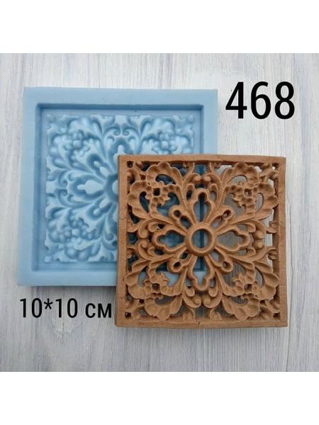 Декор из древесной пульпы-№468, 10*10см