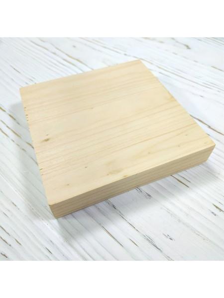 Доска сырная ,панно,подстаканник,10 см. квадратная