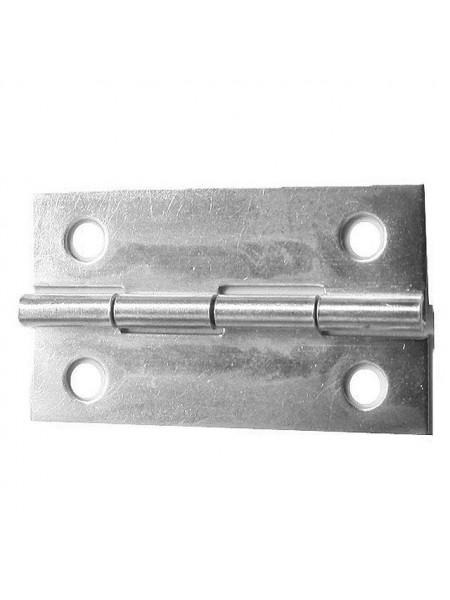Петля для шкатулок 34*22 мм, 2шт.цв хром