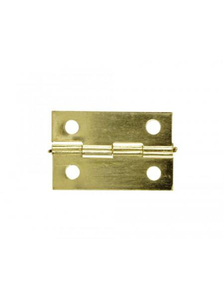 Петля для шкатулок 34*22 мм, 2шт.цв золото