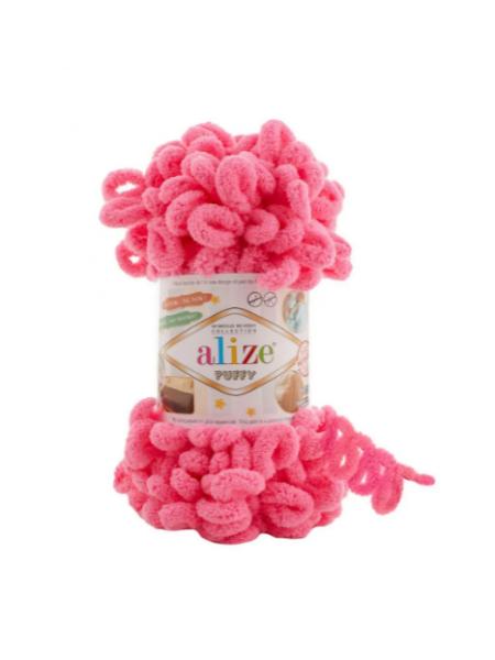 Пряжа Alize Puffy-цвет барби 100 гр-9 м