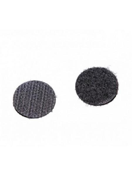 Лента контактная мини клеевая, 10 мм-10 шт,цв-чёрный