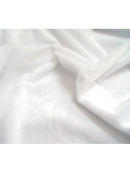 Мех коротковорсовый 3мм ,50см*50см (+/-1,0см) , цв.белый