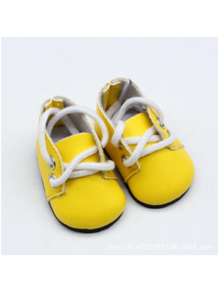 Ботиночки жёлтые,5*2,8см