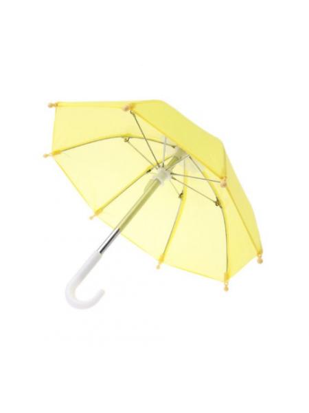 Зонтик для куклы,жёлтый,цена за 1 шт