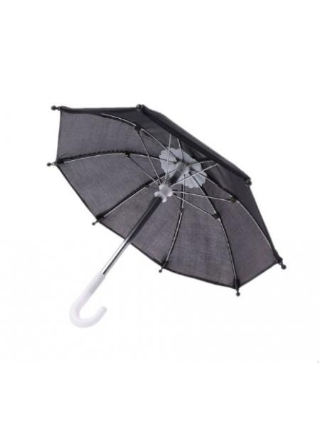 Зонтик для куклы,черный,цена за 1 шт