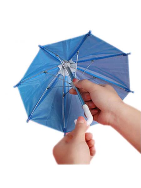 Зонтик для куклы,синий,цена за 1 шт