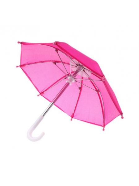 Зонтик для куклы,малиновый,цена за 1 шт