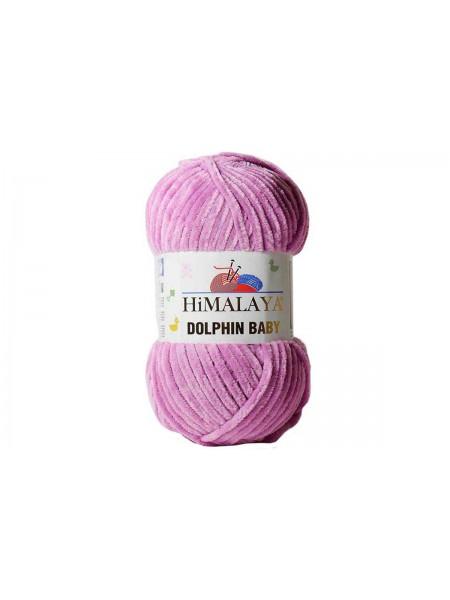 Плюшевая пряжа Долфин Бэби,цв-тёмно-розовый,№356,100гр