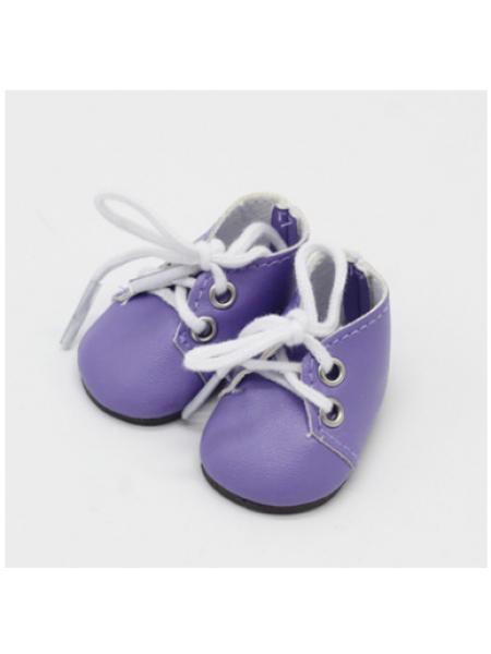 Ботиночки св-фиолетовые,5*2,8см