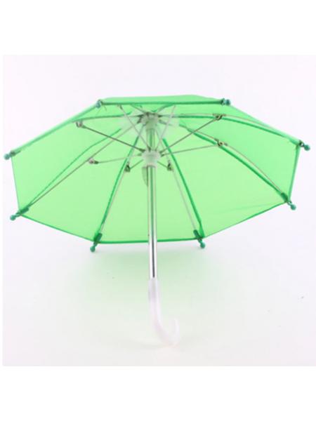 Зонтик для куклы,зелёный,цена за 1 шт