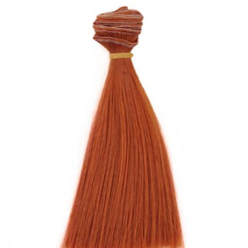 Трессы-прямые (волосы для кукол) ,25см.
