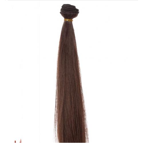 Трессы-прямые (волосы для кукол) ,25см
