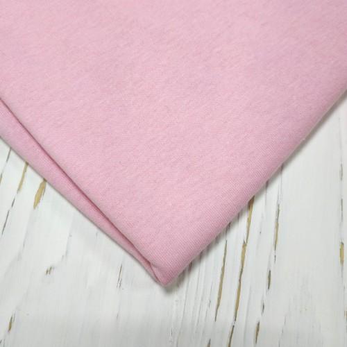 Трикотаж кулирка, 48*50 см,цв.светло-розовый