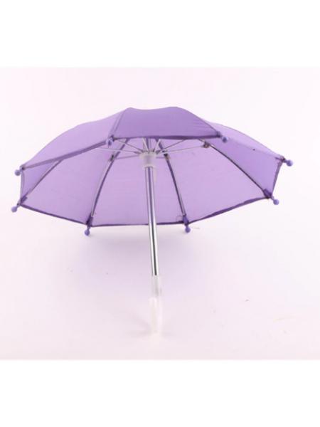 Зонтик для куклы,фиолетовый,цена за 1 шт