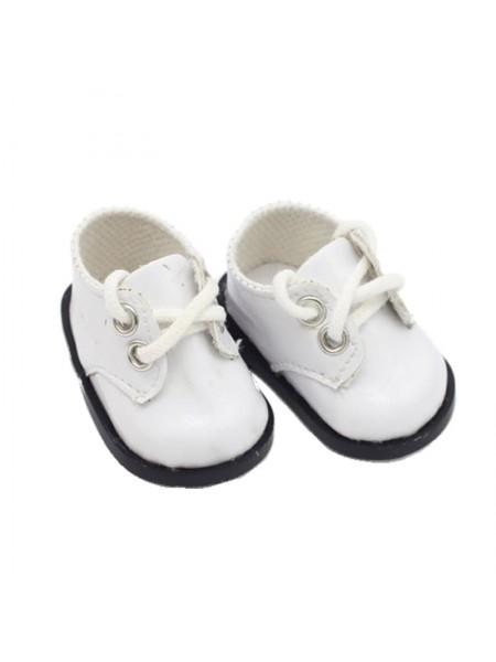 Ботиночки белые, 5 см