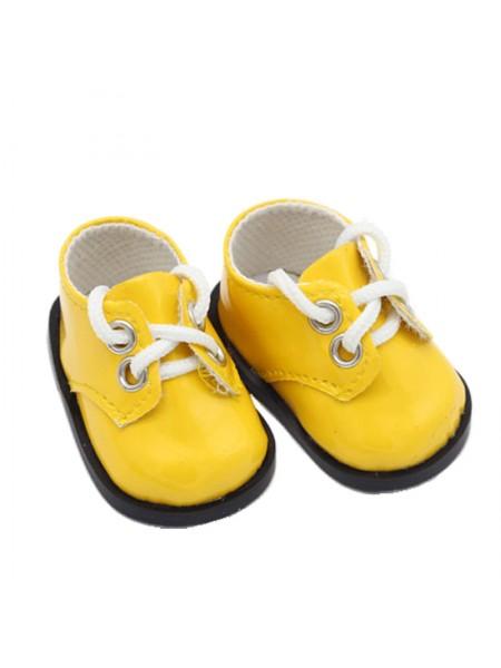 Ботиночки жёлтые, 5 см