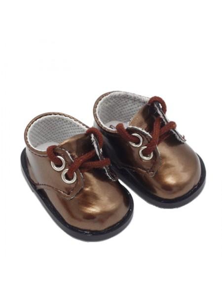 Ботиночки коричневый, 5 см