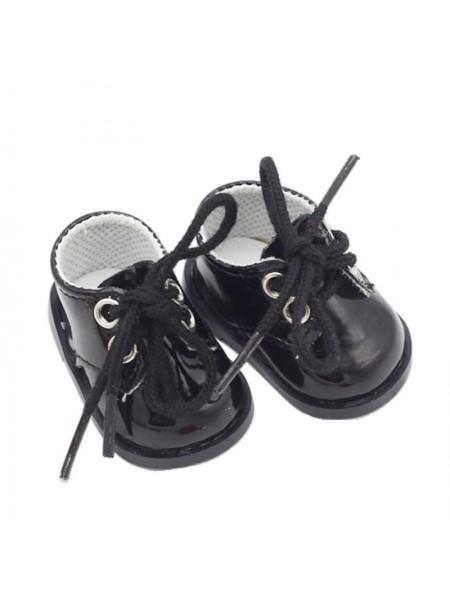 Ботиночки чёрный, 5 см