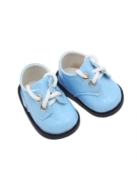 Ботиночки голубой, 5 см