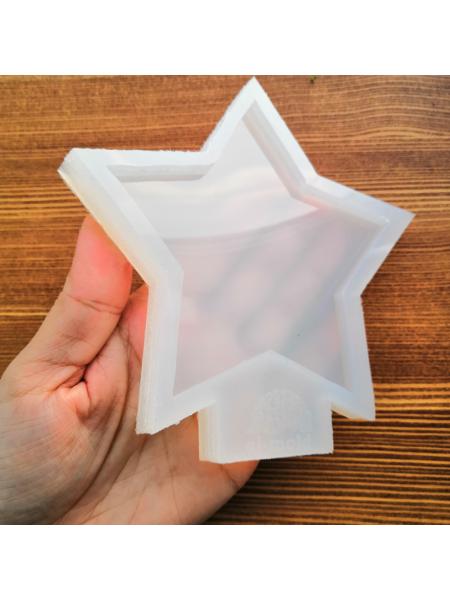 Молд подстаканник-костер,звезда малая, 11 см