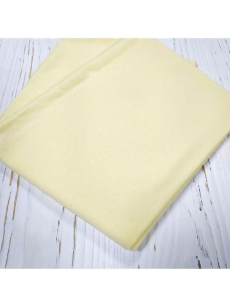 Трикотаж кулирка, 50*50 см,цвет-св-жёлтый