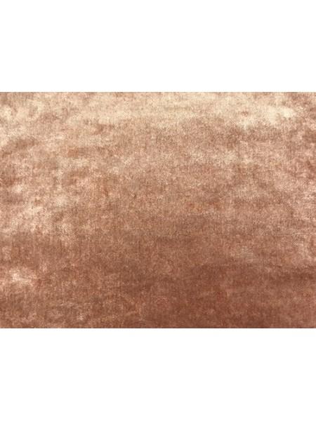 """Плюш """"Элит"""" винтажный на тканевой основе 100 % хлопок, размер 45*50см, цв. беж-розовый,Италия"""