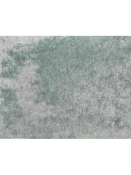 """Плюш """"Элит"""" винтажный на тканевой основе 100 % хлопок, размер 45*50см, цв.серо-голубой,Италия"""