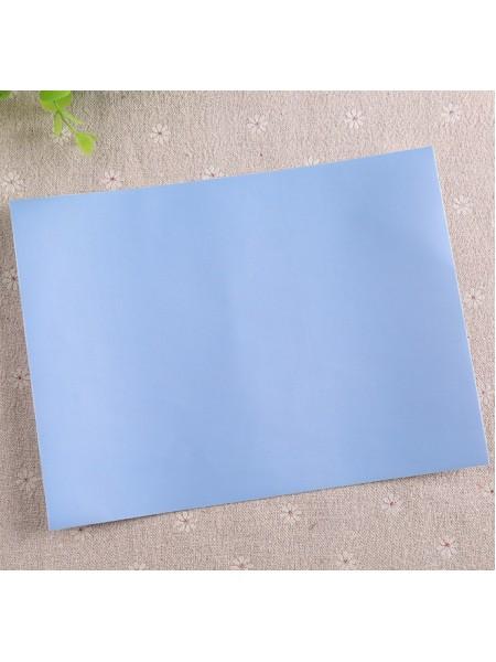 Самоклеящаяся аппликация для курток и пуховиков,цв-голубой-№7
