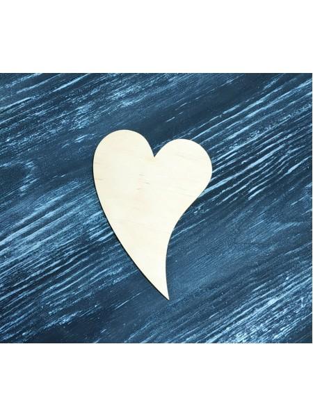 Бирка сердце фигурное , размер 7*10 см, цена за 1 шт