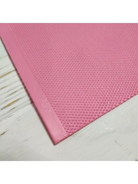 Кант для кукольной обуви(подошва),12,5*18см. цв-розовый. цена за 1 шт