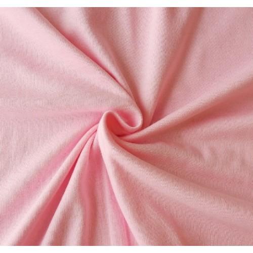 Трикотаж кулирка, 48*50 см,цв-розовый
