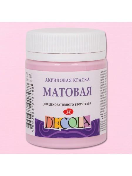 Матовая акриловая краска Decola,сакура , 50мл