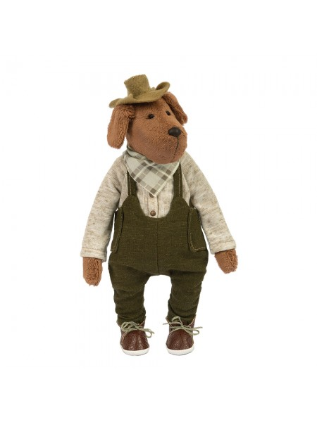 """Набор для изготовления  игрушки  """"Пёс Чарли""""-23 см"""