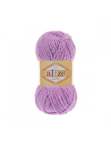 Пряжа Alize Softy,цв-розо-сиреневый,50 гр