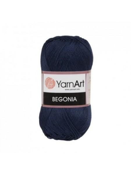 Пряжа Begonia YarnArt-Бегония.№0066,цв-т-синий, 50гр-169 м