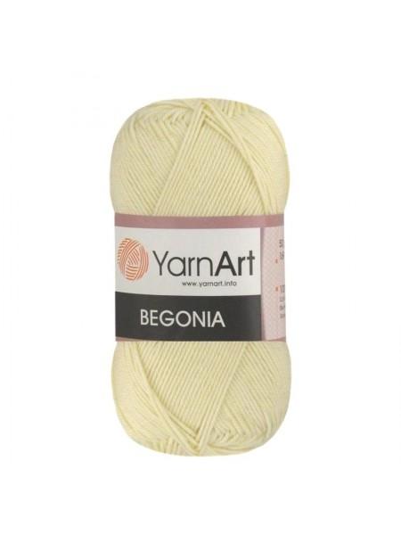 Пряжа Begonia YarnArt-Бегония.№326-шампань, 50гр-169 м
