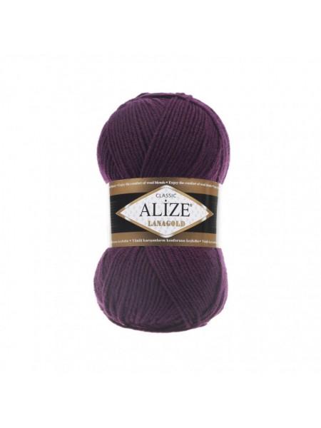Пряжа Alize-Ланаголд (Lanagold) цв-111 (фиолетовый)