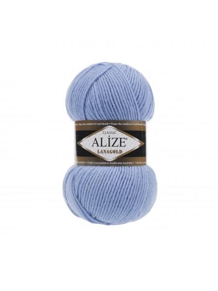 Пряжа Alize-Ланаголд (Lanagold) цв-40 (голубой)